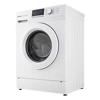PANASONIC WASHING MACHINE NA-127XB1WAS - 7Kg, WHITE