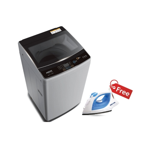 BRUHM 7.0kg WASHING MACHINE BWT-070SG + BRUHM STEAM IRON BIS-2400NP