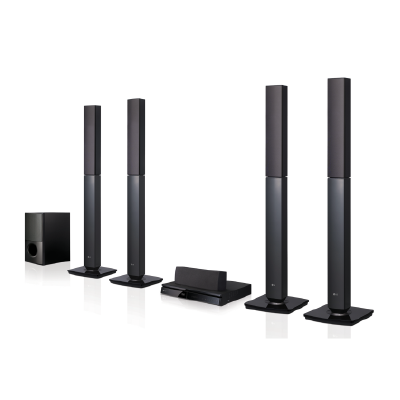 LG: 5.1 CH DVD HOME THEATER SYSTEM -  LHD655BT