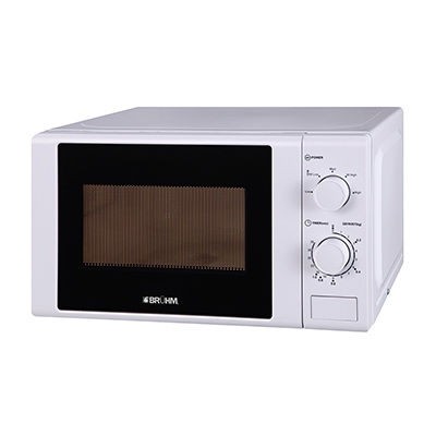 BRUHM 20 LITERS MICROWAVE OVEN BMM-20MPPGW - SOLO