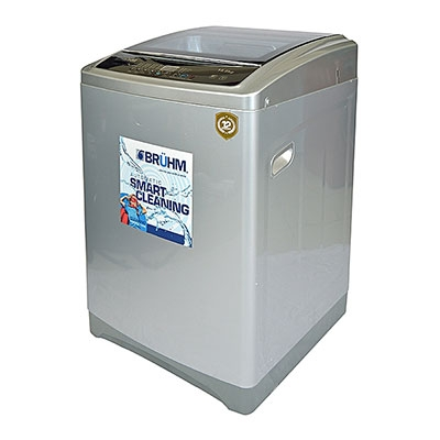 BRUHM 7.0kg WASHING MACHINE BWT-070SG + FREE BRUHM STEAM IRON BIS-2200NU