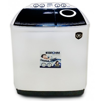 BRUHM 11KG Semi Automatic Washing Machine - BWT-110H