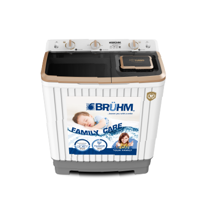 BRUHM 7.0KG Semi Automatic Washing Machine - BWT-070H