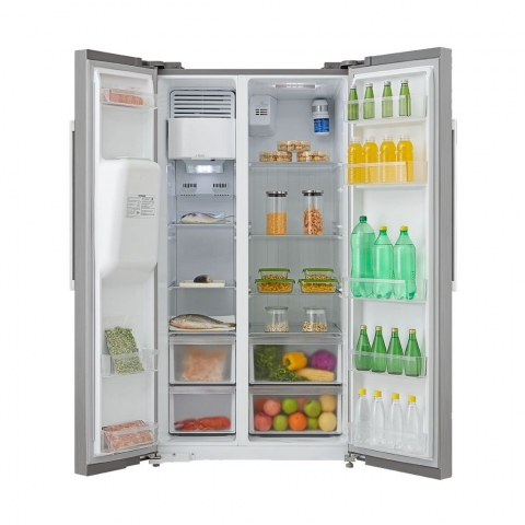 Midea 504Ltr Side By Side Refrigerator With Water Dispenser Refrigerator - HC-660