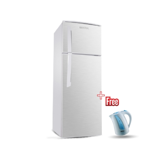 BRUHM 245L TOP FREEZER REFRIGERATOR BFD-245MD + BRUHM KETTLE BKW-18PW FREE