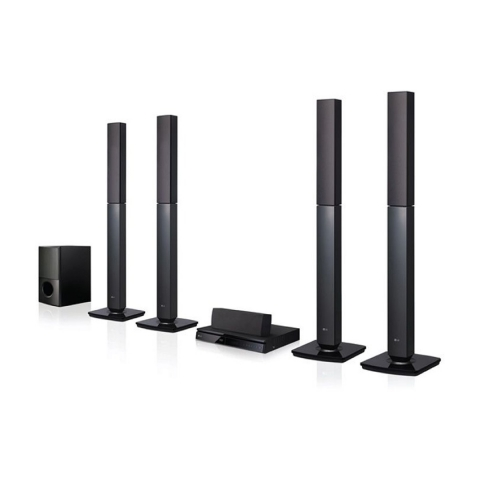 LG 5.1Ch. 1000W DVD Home Theater System