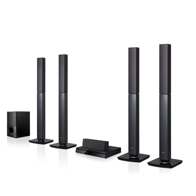 LG: 5.1 Ch DVD Home Theatre System -  LHD655