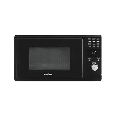 BRUHM 25 LITERS SOLO MICROWAVE OVEN BMM-25MPPGB -