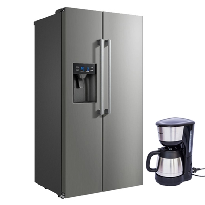 Midea 660Ltr Side By Side Refrigerator With Water Dispenser Refrigerator - HC-660