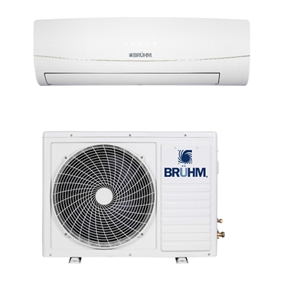 BRUHM 2.5HP SPLIT AIR CONDITION BAS-24CCFW - VITAMIN C + FREE FREE INSTALLATION