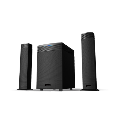 PANASONIC  2.1 CHANNEL AUDIO SPEAKER SYSTEM SC-HT31GS-K