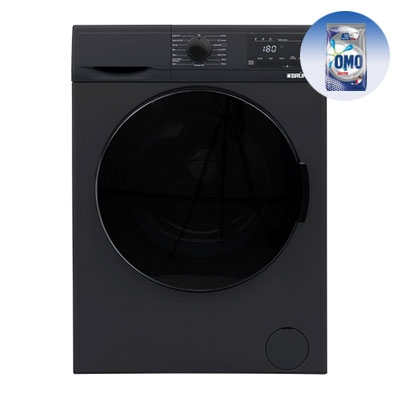 BRUHM 7.0kg FRONT LOAD WASHING MACHINE BWF-070VB - 7.0KG + FREE 1KG OMO Auto
