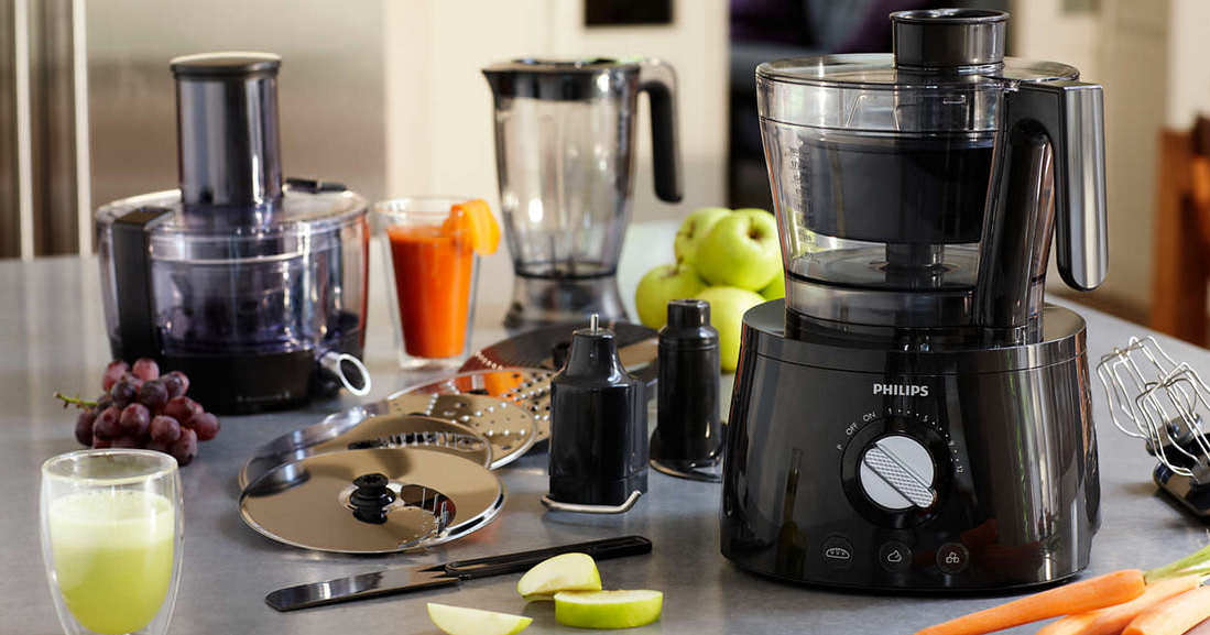 Have you had the chance to use a food processor?